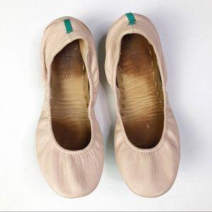 Tieks Ballerina Pink Leather Foldable Ballet Flats